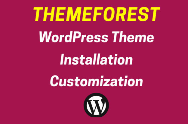 Install Themeforest Envato WordPress Theme As Demo In 12 Hrs