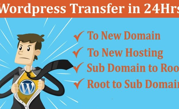 Quickly Transfer Your WordPress Site In 24 Hours